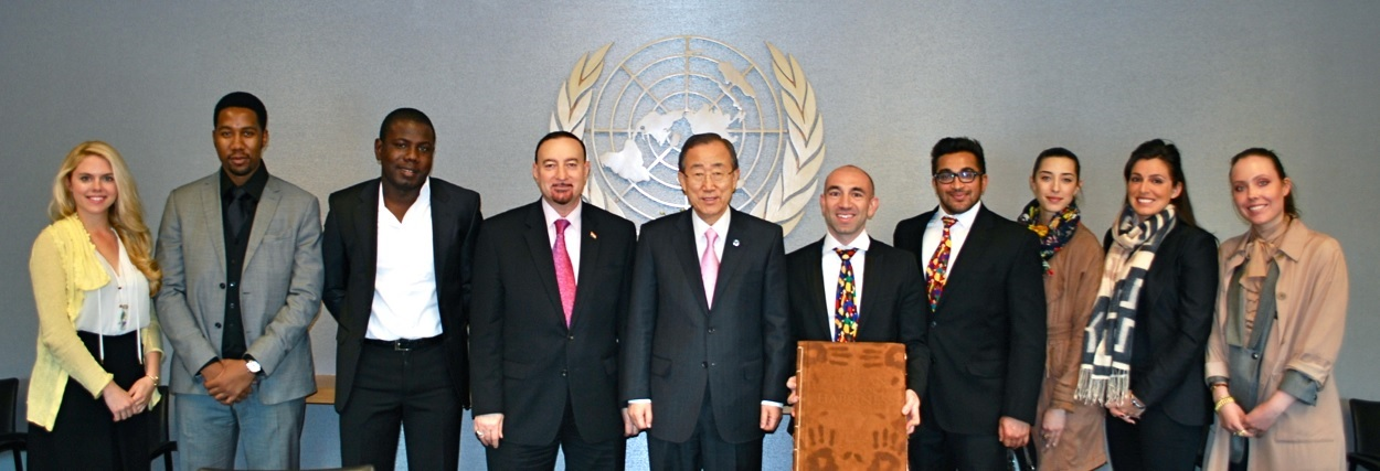 UN Secretary-General Ban Ki-Moon Endorses International Day of Happiness