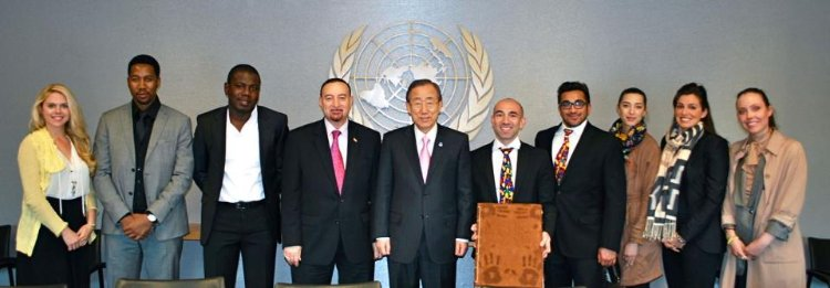 United Nations Secretary General endorses the International Day of Happiness in 2012.