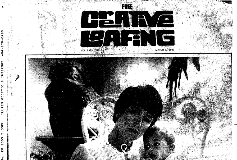 """""""From India With Love"""" – Creative Loafing, 1981"""